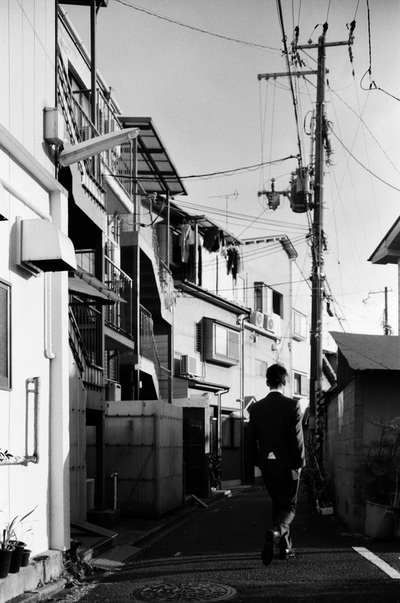 大阪 Osaka City Neighborhood A. Henry Rose UTSOA University of Texas Austin School of Architecture Japan Japanese 35mm Film Photography 日本