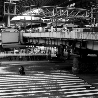 大阪駅 JR Train Station, Osaka A. Henry Rose UTSOA University of Texas Austin School of Architecture Japan Japanese 35mm Film Photography 日本